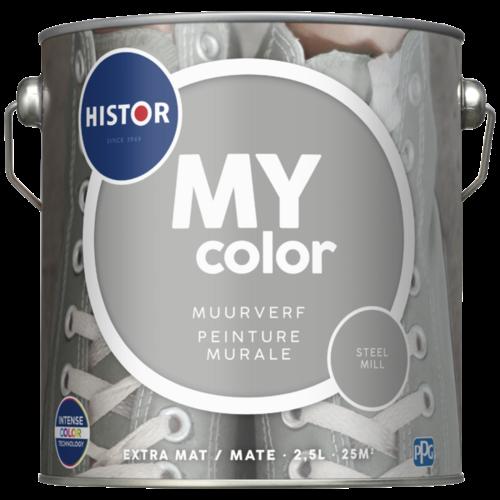 Histor My Color Muurverf Extra Mat - Steel Mill - 2,5 liter