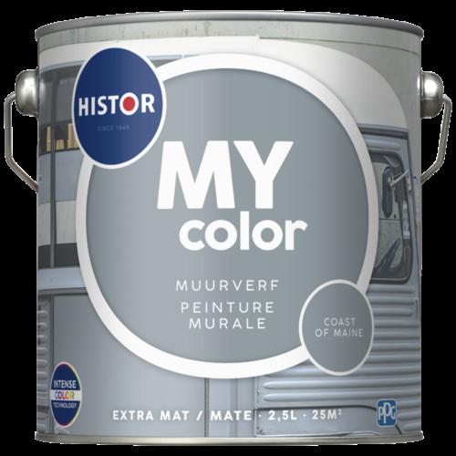 Histor My Color Muurverf Extra Mat - Coast of Maine - 2,5 liter