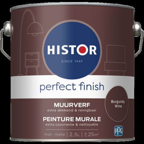 Histor Perfect Finish Muurverf Mat - Burgundy Wine - 2,5 liter