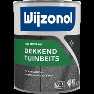 Wijzonol Dekkend Tuinbeits - Zwart - 0,75 liter