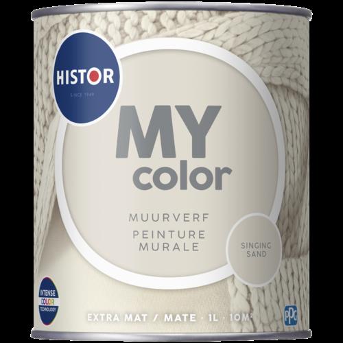 Histor My Color Muurverf Extra Mat - Singing Sand - 1 liter