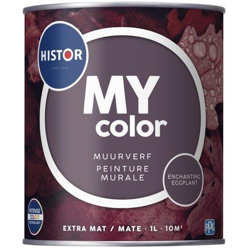 Histor My Color Muurverf Extra Mat - Enchanting Eggplant - 1 liter