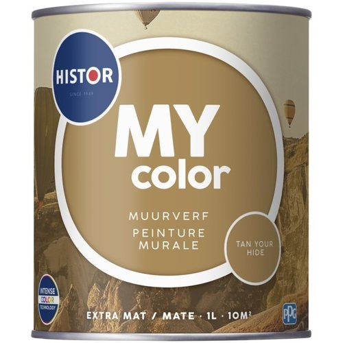 Histor My Color Muurverf Extra Mat - Tan Your Hide - 1 liter
