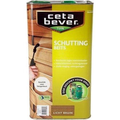 Cetabever Schuttingbeits - Lichtbruin- 5 liter