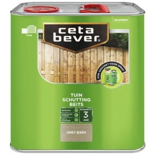 Cetabever Schuttingbeits Mat - Grey Wash - 2,5 liter