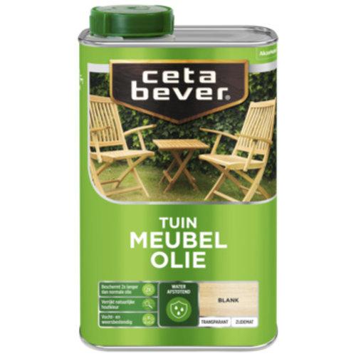 Cetabever Tuin Meubel Olie Transparant Zijdemat - Blank - 1 liter