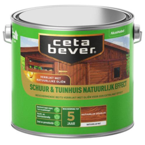 Cetabever Beits Schuur en Tuinhuis Natuurlijk Effect Mat - Douglas - 2,5 liter