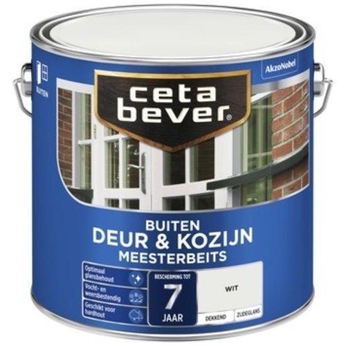Cetabever Meesterbeits Deur en Kozijn Dekkend Zijdeglans - Wit - 2,5 liter