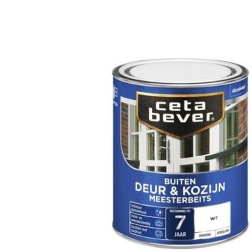 Cetabever Meesterbeits Deur en Kozijn Dekkend Zijdeglans - Wit - 0,75 liter