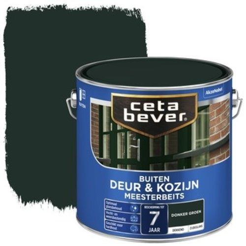Cetabever Meesterbeits Deur en Kozijn Dekkend Zijdeglans - Donker Groen - 2,5 liter