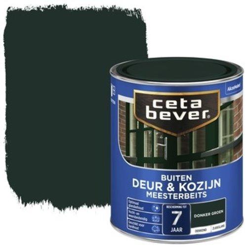 Cetabever Meesterbeits Deur en Kozijn Dekkend Zijdeglans - Donker Groen - 0,75 liter