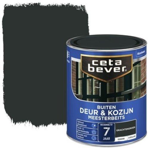 Cetabever Meesterbeits Deur en Kozijn Dekkend Zijdeglans - Grachtengroen - 0,75 liter