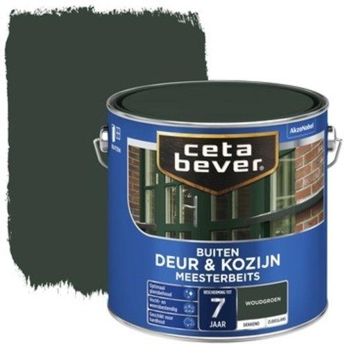 Cetabever Meesterbeits Deur en Kozijn Dekkend Zijdeglans - Woudgroen - 2,5 liter