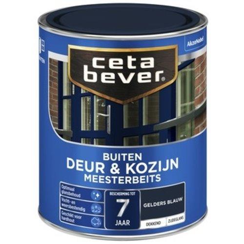 Cetabever Meesterbeits Deur en Kozijn Dekkend Zijdeglans - Gelders Blauw - 0,75 liter