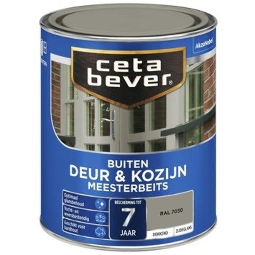 Cetabever Meesterbeits Deur en Kozijn Dekkend Zijdeglans - RAL 7030 - 0,75 liter