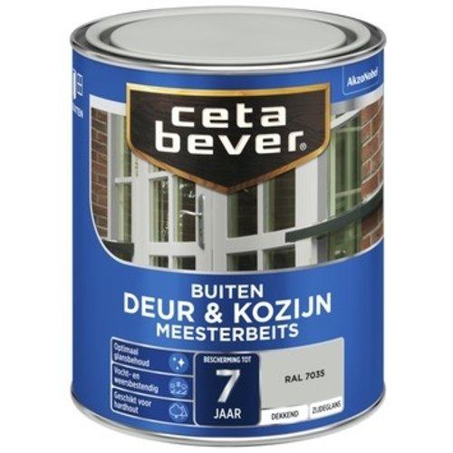 Cetabever Meesterbeits Deur en Kozijn Dekkend Zijdeglans - RAL 7035 - 0,75 liter
