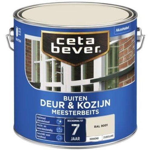 Cetabever Meesterbeits Deur en Kozijn Dekkend Zijdeglans - RAL 9001 - 2,5 liter