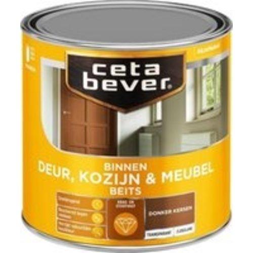 Cetabever Binnenbeits Deur Kozijn en Meubel Transparant Zijdeglans - Donker Kersen - 0,25 liter