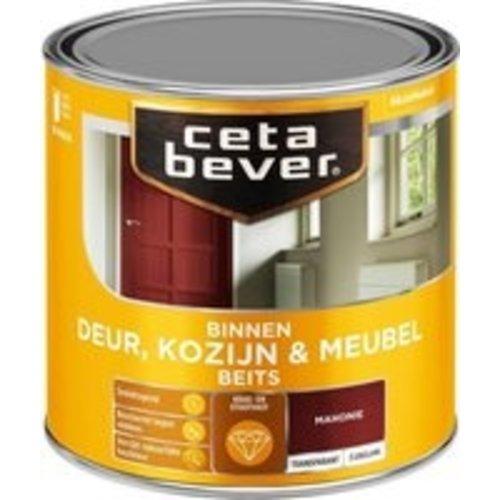 Cetabever Binnenbeits Deur Kozijn en Meubel Transparant Zijdeglans - Mahonie - 0,25 liter