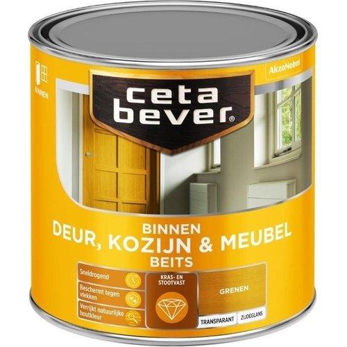 Cetabever Binnenbeits Deur Kozijn en Meubel Transparant Zijdeglans - Grenen - 0,25 liter