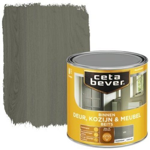 Cetabever Binnenbeits Deur Kozijn en Meubel Transparant Zijdeglans - Lei - 0,25 liter