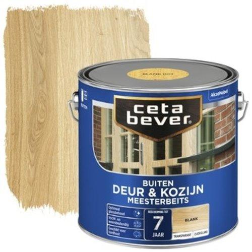 Cetabever Meesterbeits Deur en Kozijn Transparant Zijdeglans - Blank - 2,5 liter