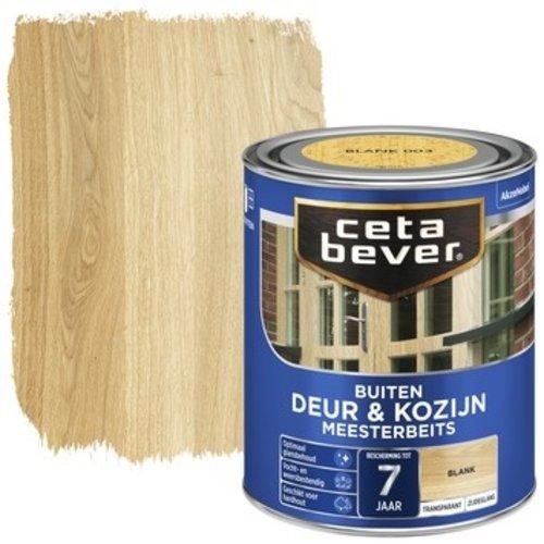 Cetabever Meesterbeits Deur en Kozijn Transparant Zijdeglans - Blank - 0,75 liter