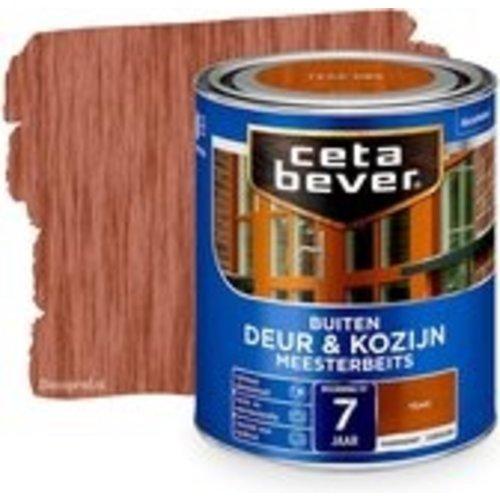 Cetabever Meesterbeits Deur en Kozijn Transparant Zijdeglans - Teak - 2,5 liter