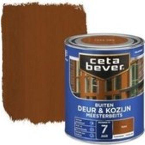 Cetabever Meesterbeits Deur en Kozijn Transparant Zijdeglans - Teak - 0,75 liter