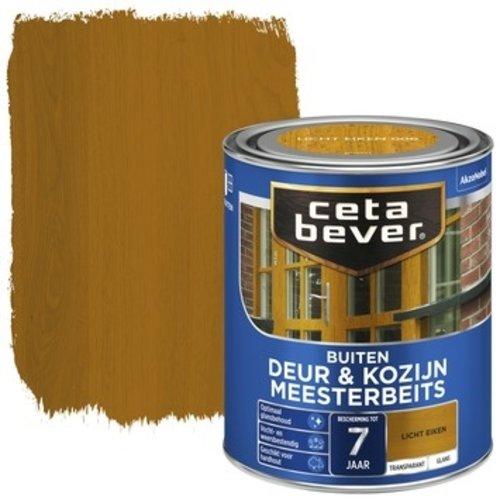 Cetabever Meesterbeits Deur en Kozijn Transparant Glans - Licht Eiken - 0,75 liter