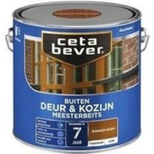 Cetabever Meesterbeits Deur en Kozijn Transparant Zijdeglans - Donker Eiken - 2,5 liter