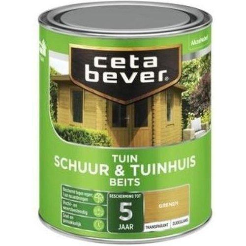 Cetabever Schuur en Tuinhuis Beits Transparant Zijdeglans - Grenen - 0,75 liter