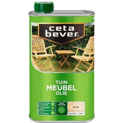 Cetabever Tuin Meubel Olie Transparant Zijdemat - Blank - 0,5 liter