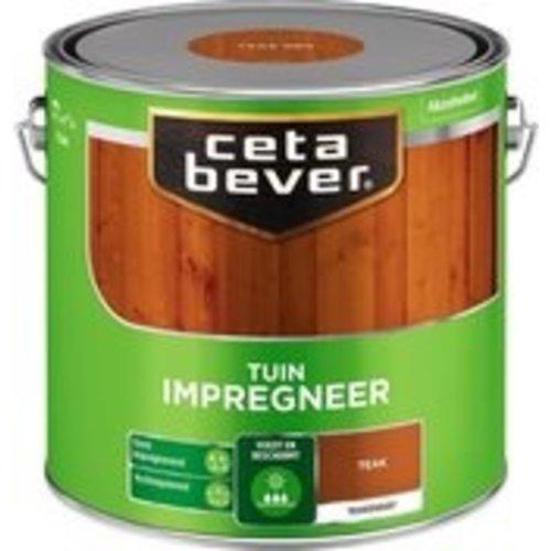 Cetabever Tuin Impregneer Transparant - Teak - 2,5 liter