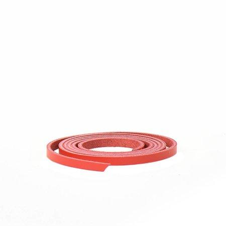 Glück & Glanz Lederzugband rot