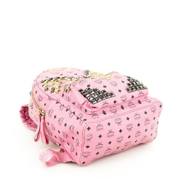 MCM Rucksack Medium pink