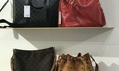 Materialien von Designertaschen