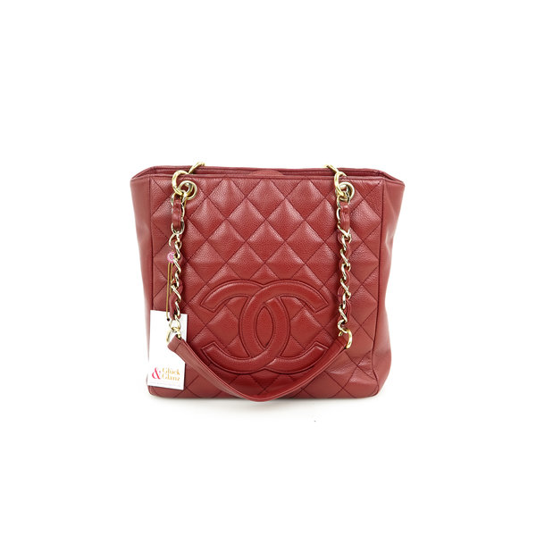 Chanel Shopper Leder