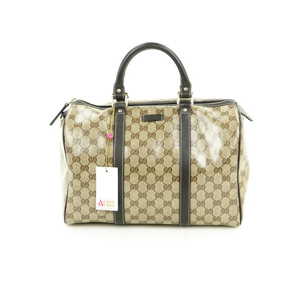 Gucci Boston Bag Coated Monogram