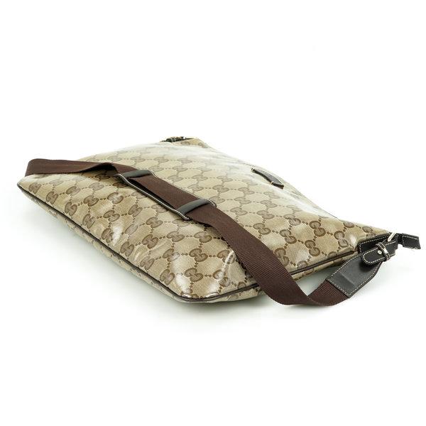 Gucci Messenger  Bag Coated Monogram unisex
