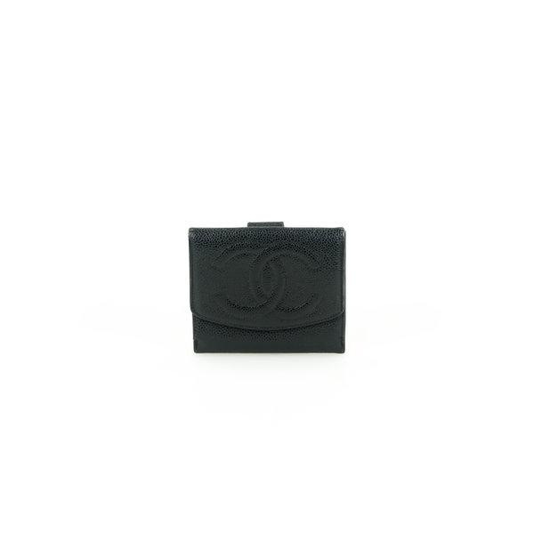 Chanel Leder-Portemonnaie Leder