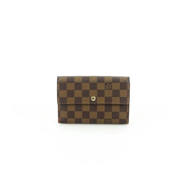 Louis Vuitton Portemonnaie Damier Ebene