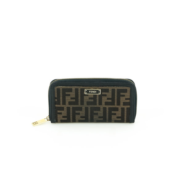 Fendi Portemonnaie Monogram Zippy
