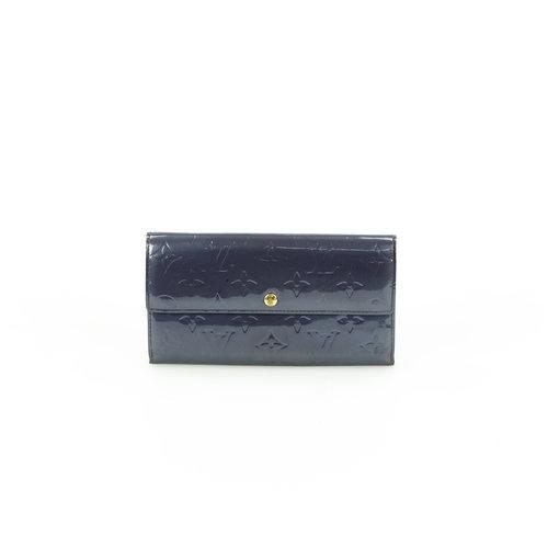 Louis Vuitton Portemonnaie blau grau