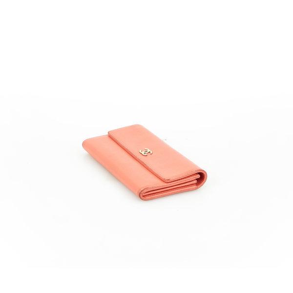 Chanel Portemonnaie Leder