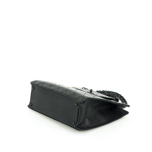 Chanel Schultertasche Leder