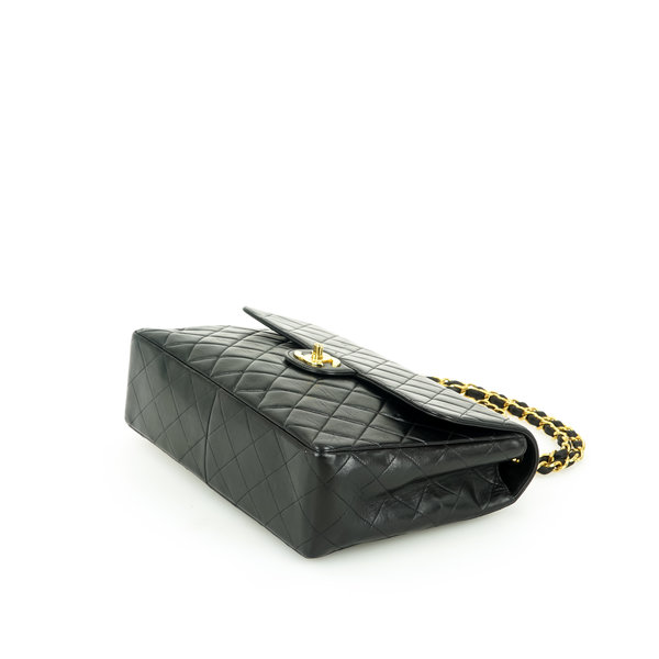 Chanel Classic Jumbo 30 Tasche Leder gesteppt
