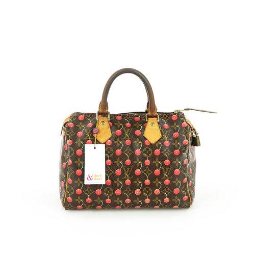 Louis Vuitton Speedy 25 Cherry Takashi Murakami