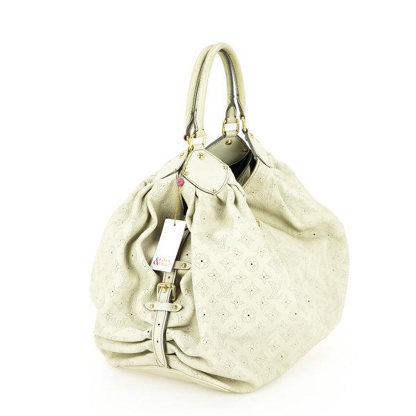 Louis Vuitton Mahina Tasche Leder mit Perforationen in Monogram