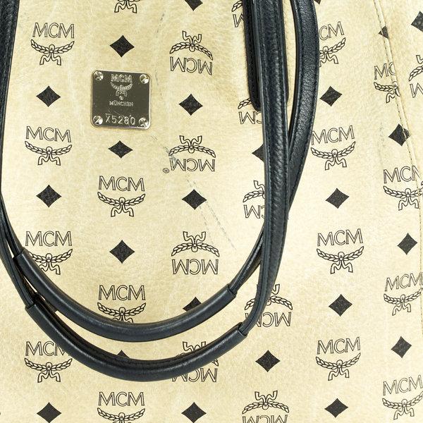 MCM Wendeshopper Monogram